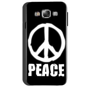 Samsung Galaxy A5 2015 Mobile Covers Cases Peace Sign In White - Lowest Price - Paybydaddy.com