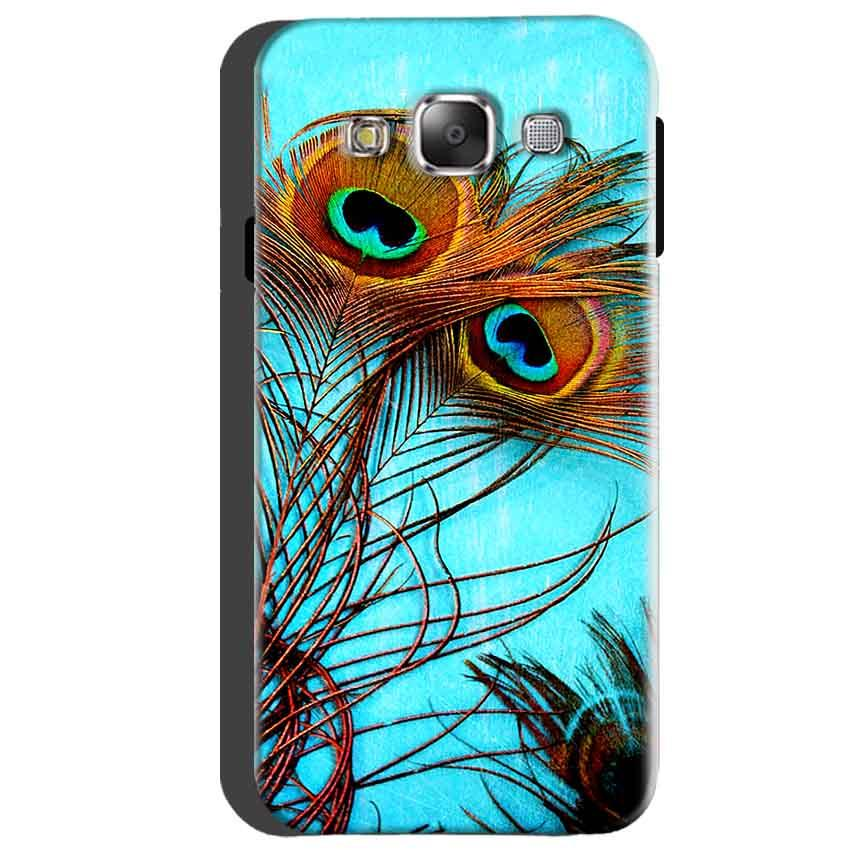Samsung Galaxy A5 2015 Mobile Covers Cases Peacock blue wings - Lowest Price - Paybydaddy.com