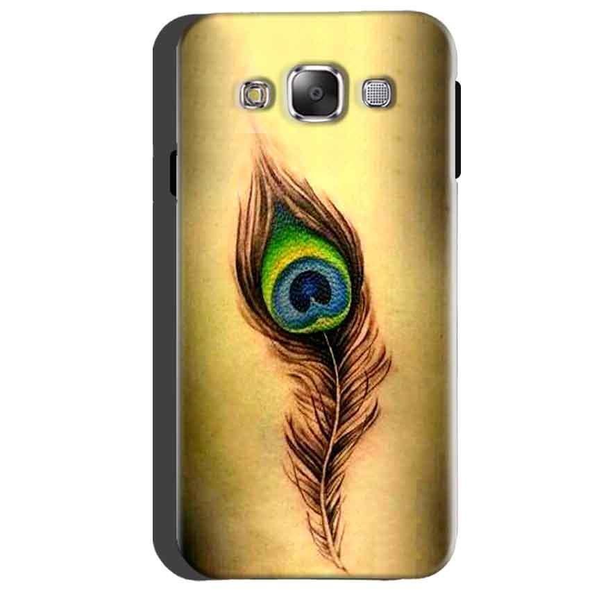 Samsung Galaxy A5 2015 Mobile Covers Cases Peacock coloured art - Lowest Price - Paybydaddy.com