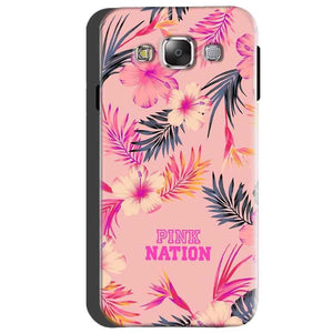 Samsung Galaxy A5 2015 Mobile Covers Cases Pink nation - Lowest Price - Paybydaddy.com