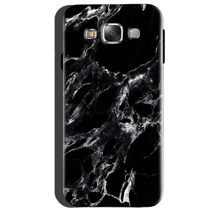 Samsung Galaxy A5 2015 Mobile Covers Cases Pure Black Marble Texture - Lowest Price - Paybydaddy.com