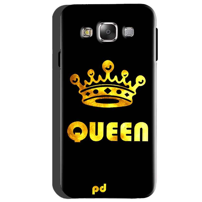 Samsung Galaxy A5 2015 Mobile Covers Cases Queen With Crown in gold - Lowest Price - Paybydaddy.com