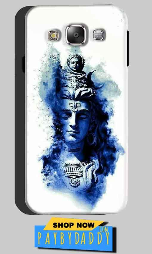 Samsung Galaxy A5 2015 Mobile Covers Cases Shiva Blue White - Lowest Price - Paybydaddy.com
