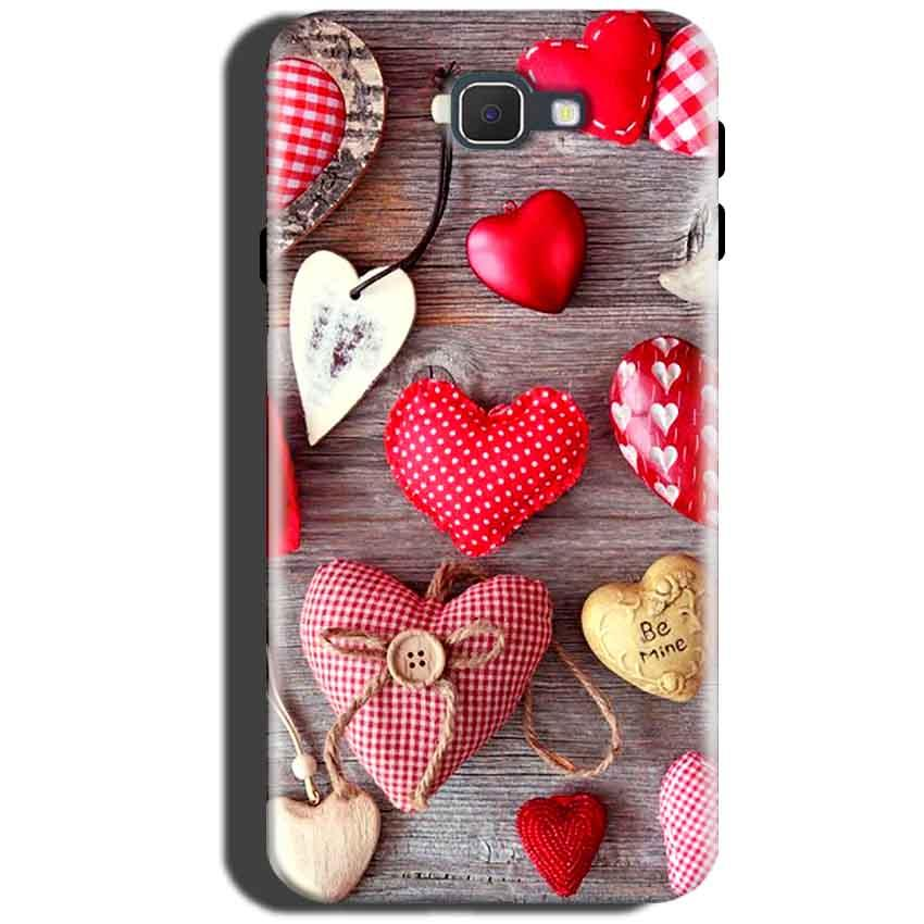 Samsung Galaxy A5 2016 Mobile Covers Cases Hearts- Lowest Price - Paybydaddy.com
