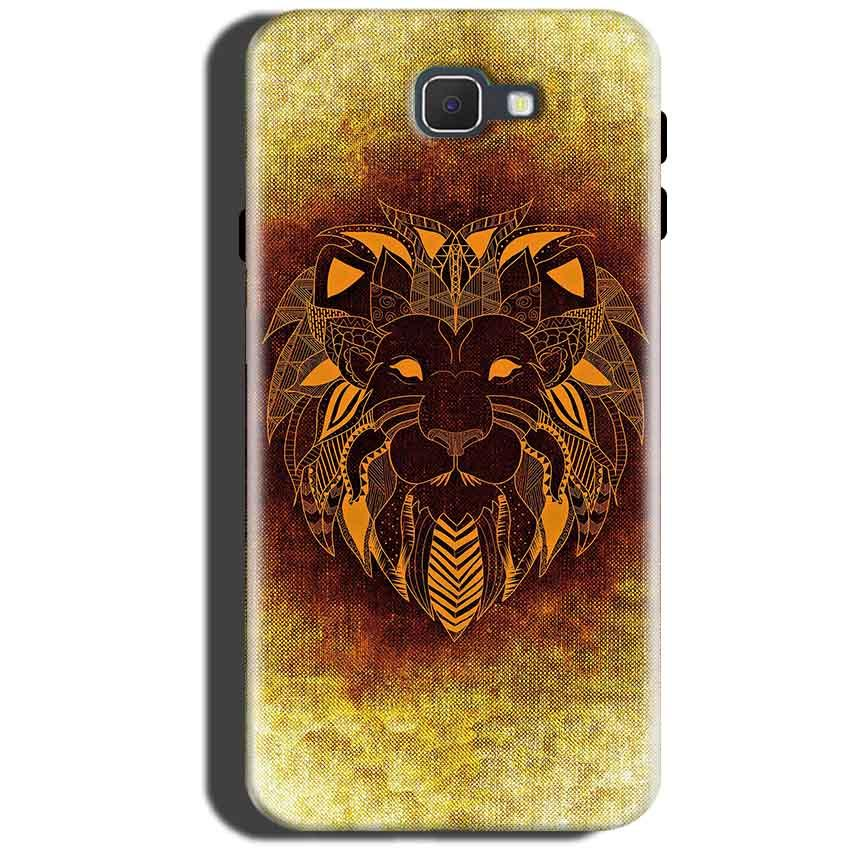 Samsung Galaxy A5 2016 Mobile Covers Cases Lion face art - Lowest Price - Paybydaddy.com