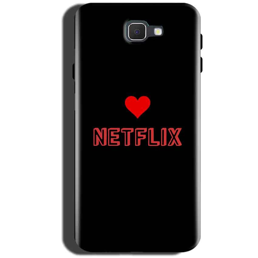 Samsung Galaxy A5 2016 Mobile Covers Cases NETFLIX WITH HEART - Lowest Price - Paybydaddy.com