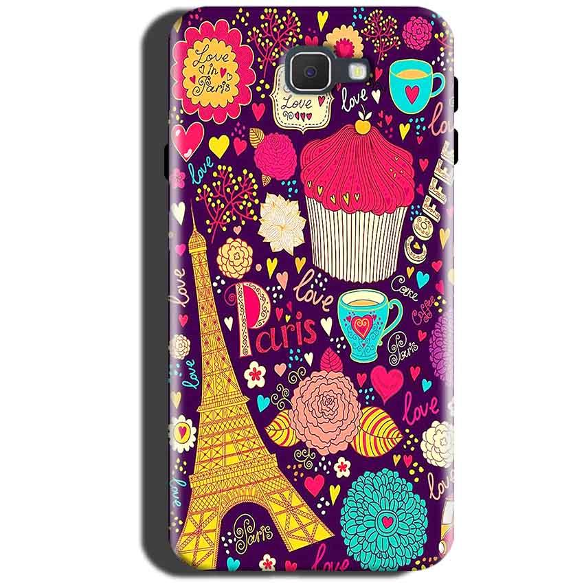 Samsung Galaxy A5 2016 Mobile Covers Cases Paris Sweet love - Lowest Price - Paybydaddy.com