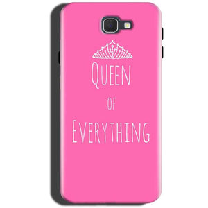 Samsung Galaxy A5 2016 Mobile Covers Cases Queen Of Everything Pink White - Lowest Price - Paybydaddy.com