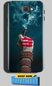 Samsung Galaxy A5 2016 Mobile Covers Cases Shiva Hand With Clilam - Lowest Price - Paybydaddy.com