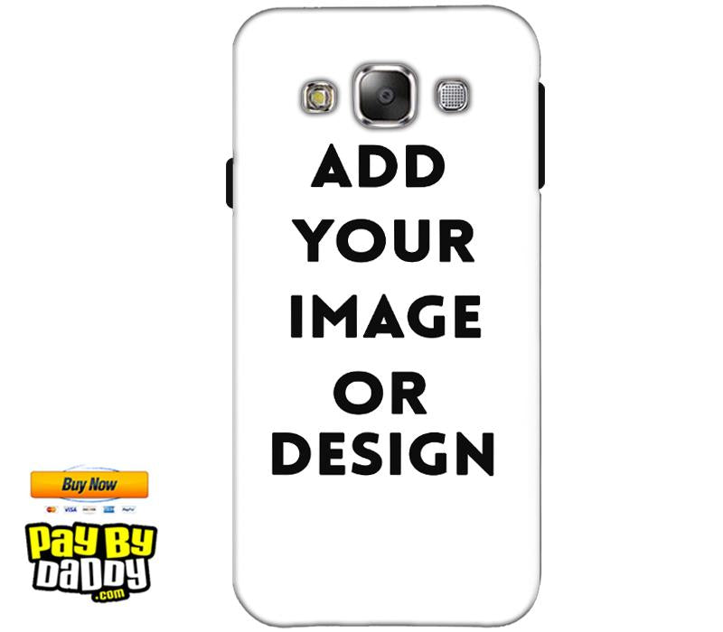 Pic on Cover / Photo Back Cover / Customized Mobile Covers For  Samsung Galaxy A7 2015