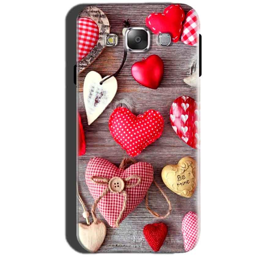 Samsung Galaxy A7 2015 Mobile Covers Cases Hearts- Lowest Price - Paybydaddy.com