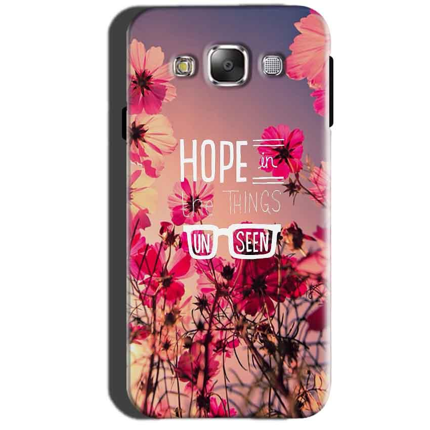 Samsung Galaxy A7 2015 Mobile Covers Cases Hope in the Things Unseen- Lowest Price - Paybydaddy.com