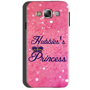 Samsung Galaxy A7 2015 Mobile Covers Cases Hubbies Princess - Lowest Price - Paybydaddy.com