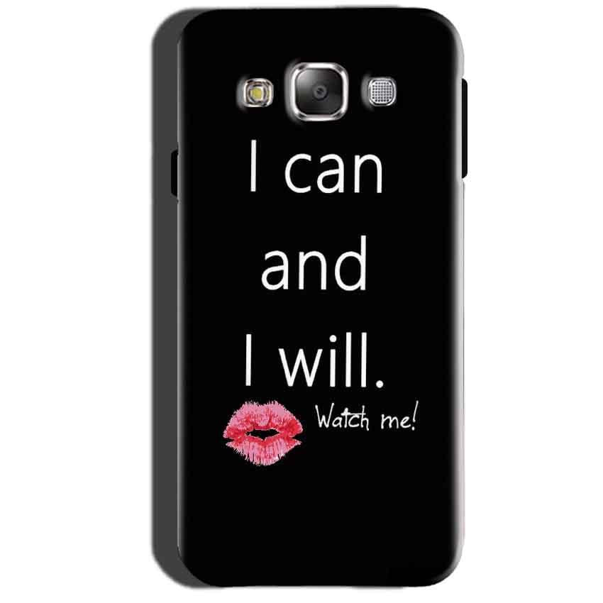 Samsung Galaxy A7 2015 Mobile Covers Cases i can and i will Lips - Lowest Price - Paybydaddy.com