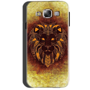 Samsung Galaxy A7 2015 Mobile Covers Cases Lion face art - Lowest Price - Paybydaddy.com