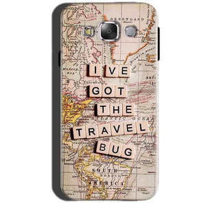 Samsung Galaxy A7 2015 Mobile Covers Cases Live Travel Bug - Lowest Price - Paybydaddy.com
