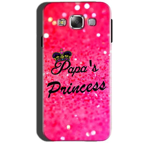 Samsung Galaxy A7 2015 Mobile Covers Cases PAPA PRINCESS - Lowest Price - Paybydaddy.com