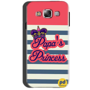 Samsung Galaxy A7 2015 Mobile Covers Cases Papas Princess - Lowest Price - Paybydaddy.com