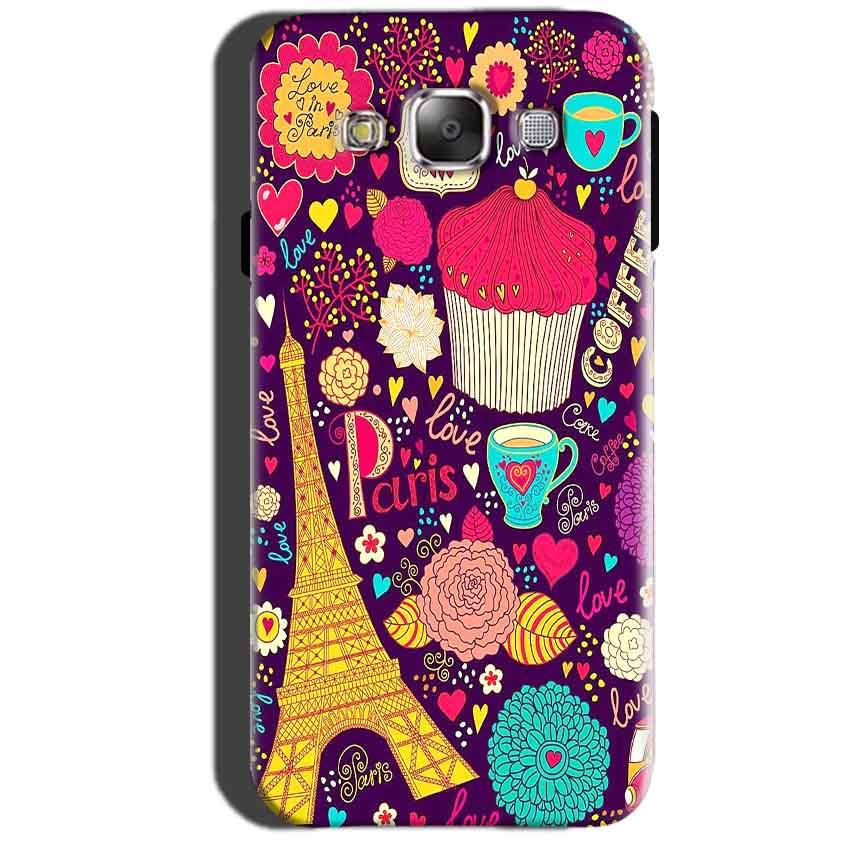 Samsung Galaxy A7 2015 Mobile Covers Cases Paris Sweet love - Lowest Price - Paybydaddy.com