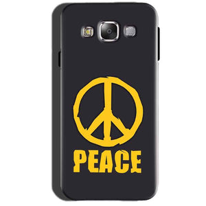 Samsung Galaxy A7 2015 Mobile Covers Cases Peace Blue Yellow - Lowest Price - Paybydaddy.com