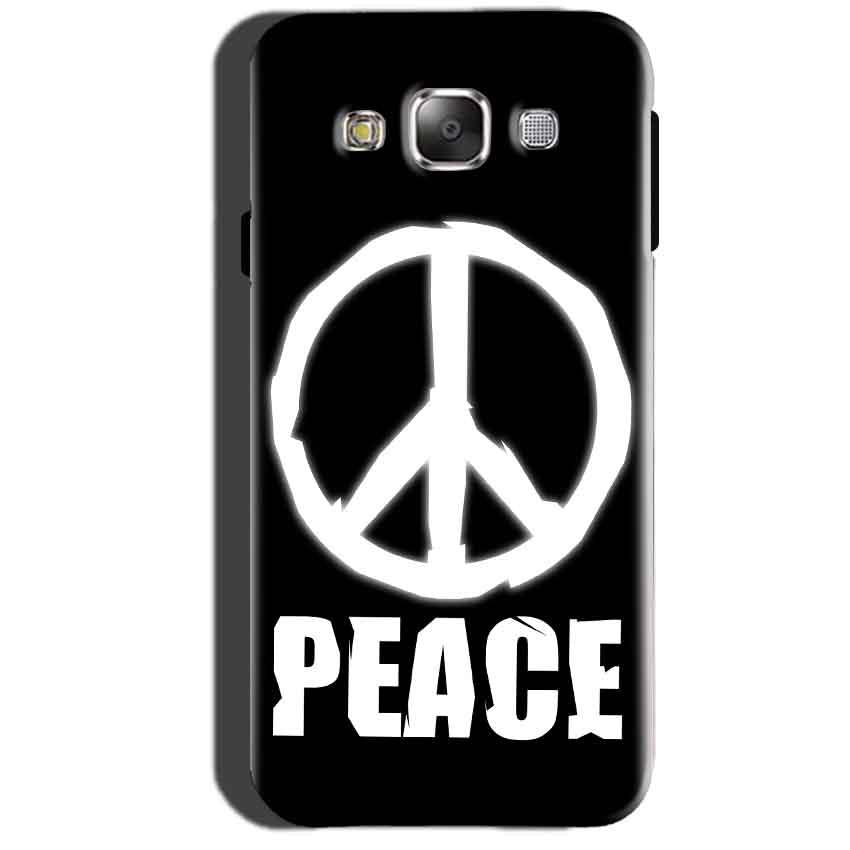 Samsung Galaxy A7 2015 Mobile Covers Cases Peace Sign In White - Lowest Price - Paybydaddy.com