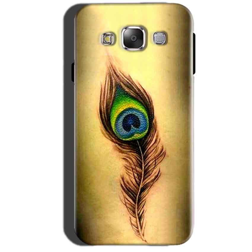 Samsung Galaxy A7 2015 Mobile Covers Cases Peacock coloured art - Lowest Price - Paybydaddy.com