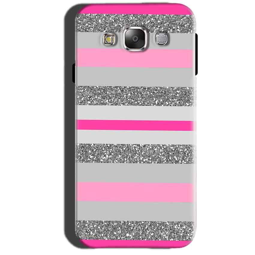 Samsung Galaxy A7 2015 Mobile Covers Cases Pink colour pattern - Lowest Price - Paybydaddy.com