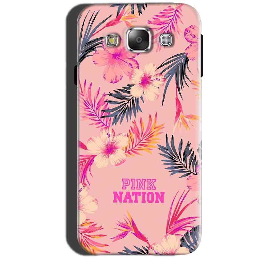Samsung Galaxy A7 2015 Mobile Covers Cases Pink nation - Lowest Price - Paybydaddy.com
