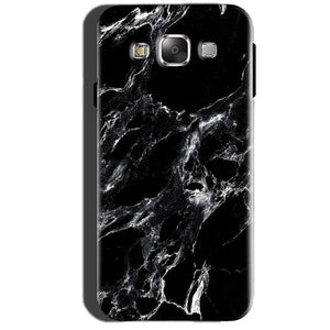 Samsung Galaxy A7 2015 Mobile Covers Cases Pure Black Marble Texture - Lowest Price - Paybydaddy.com