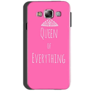 Samsung Galaxy A7 2015 Mobile Covers Cases Queen Of Everything Pink White - Lowest Price - Paybydaddy.com