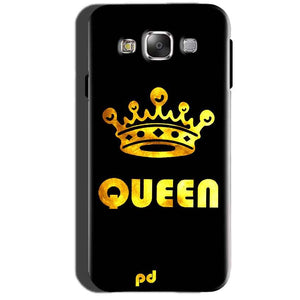 Samsung Galaxy A7 2015 Mobile Covers Cases Queen With Crown in gold - Lowest Price - Paybydaddy.com