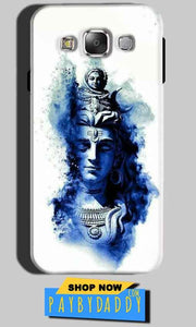 Samsung Galaxy A7 2015 Mobile Covers Cases Shiva Blue White - Lowest Price - Paybydaddy.com