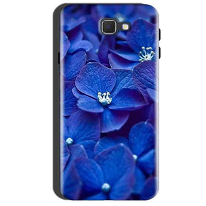 Samsung Galaxy A7 2016 Mobile Covers Cases Blue flower - Lowest Price - Paybydaddy.com