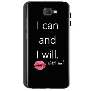 Samsung Galaxy A7 2016 Mobile Covers Cases i can and i will Lips - Lowest Price - Paybydaddy.com