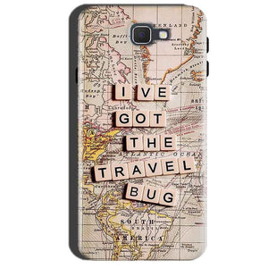 Samsung Galaxy A7 2016 Mobile Covers Cases Live Travel Bug - Lowest Price - Paybydaddy.com
