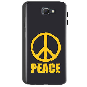 Samsung Galaxy A7 2016 Mobile Covers Cases Peace Blue Yellow - Lowest Price - Paybydaddy.com