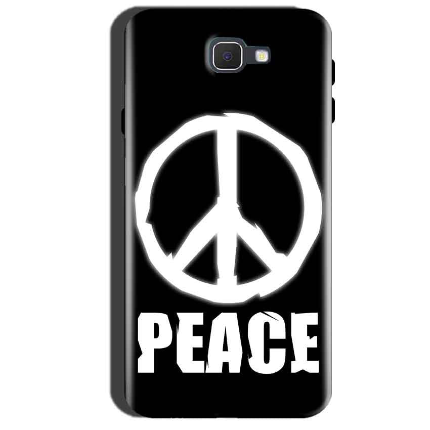 Samsung Galaxy A7 2016 Mobile Covers Cases Peace Sign In White - Lowest Price - Paybydaddy.com