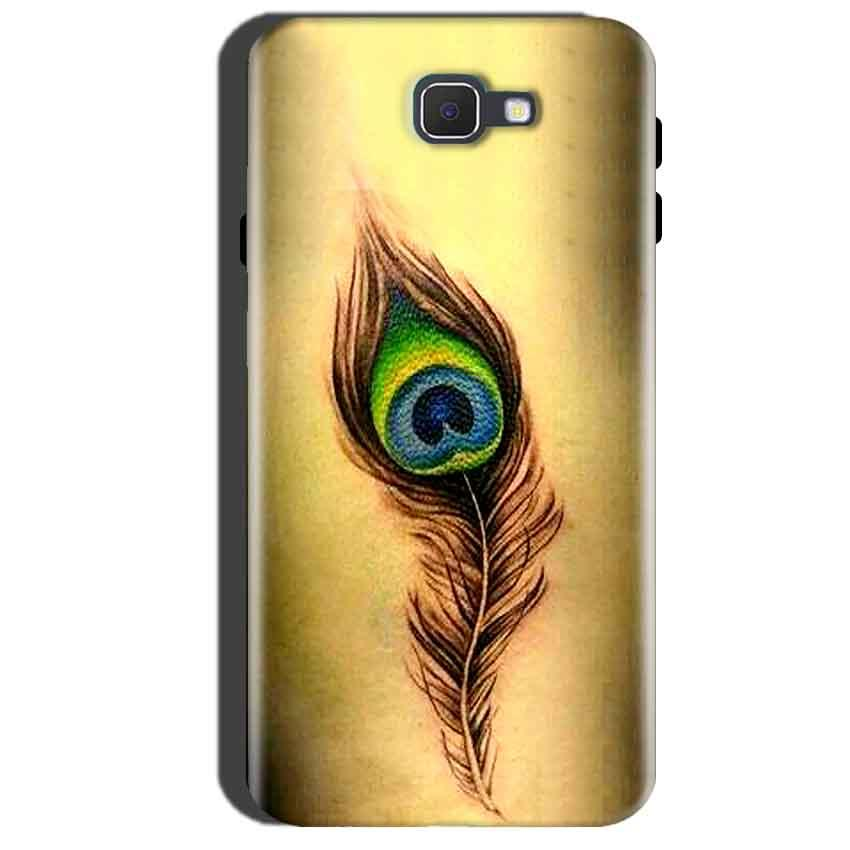 Samsung Galaxy A7 2016 Mobile Covers Cases Peacock coloured art - Lowest Price - Paybydaddy.com