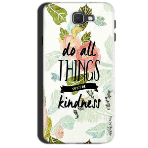 Samsung Galaxy A7 2017 Mobile Covers Cases Do all things with kindness - Lowest Price - Paybydaddy.com