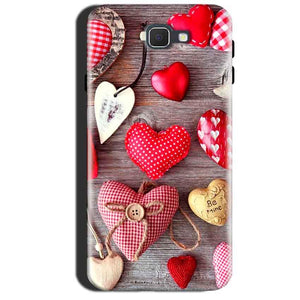 Samsung Galaxy A7 2017 Mobile Covers Cases Hearts- Lowest Price - Paybydaddy.com