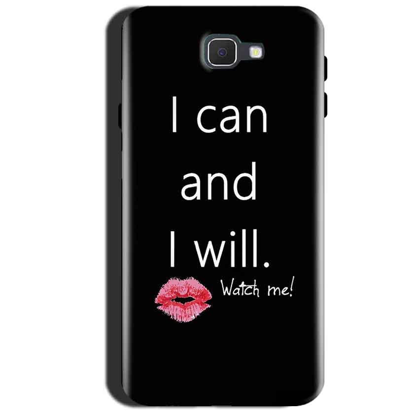 Samsung Galaxy A7 2017 Mobile Covers Cases i can and i will Lips - Lowest Price - Paybydaddy.com