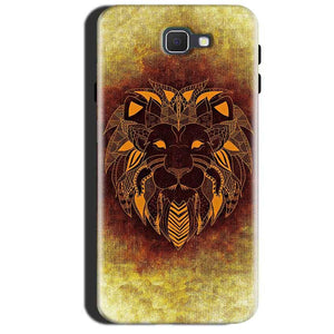 Samsung Galaxy A7 2017 Mobile Covers Cases Lion face art - Lowest Price - Paybydaddy.com