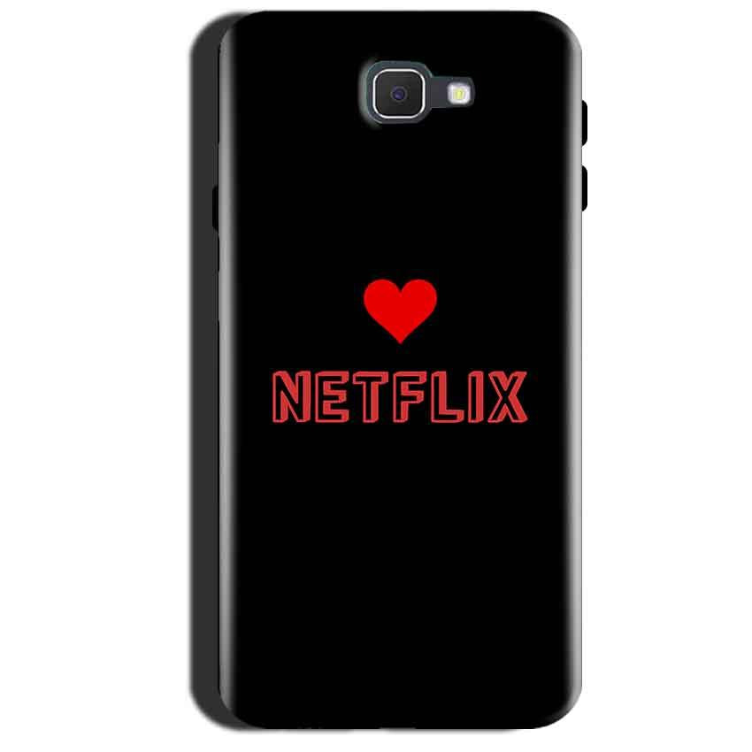 Samsung Galaxy A7 2017 Mobile Covers Cases NETFLIX WITH HEART - Lowest Price - Paybydaddy.com