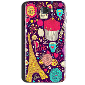 Samsung Galaxy A7 2017 Mobile Covers Cases Paris Sweet love - Lowest Price - Paybydaddy.com
