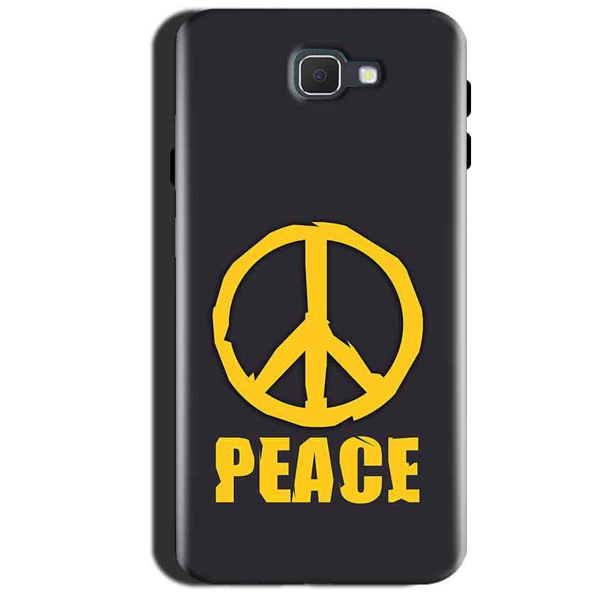 Samsung Galaxy A7 2017 Mobile Covers Cases Peace Blue Yellow - Lowest Price - Paybydaddy.com