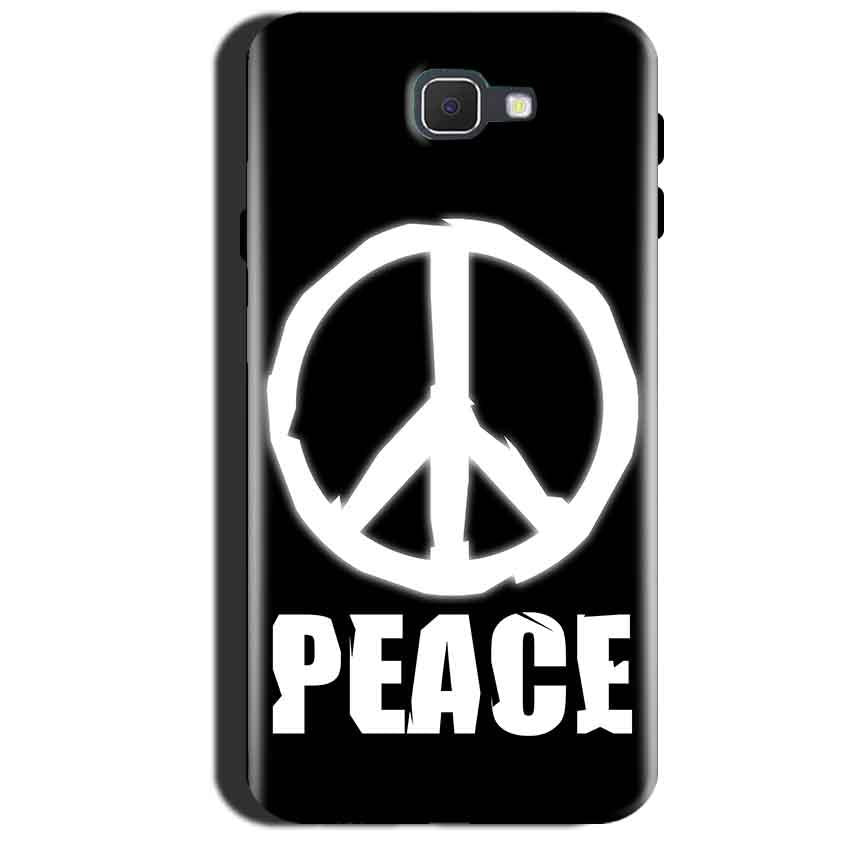 Samsung Galaxy A7 2017 Mobile Covers Cases Peace Sign In White - Lowest Price - Paybydaddy.com