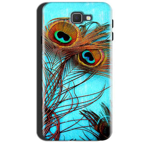 Samsung Galaxy A7 2017 Mobile Covers Cases Peacock blue wings - Lowest Price - Paybydaddy.com