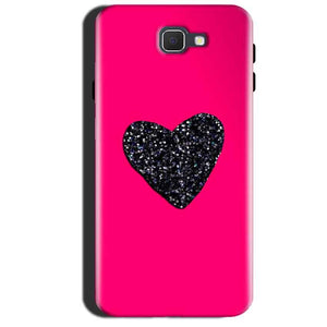 Samsung Galaxy A7 2017 Mobile Covers Cases Pink Glitter Heart - Lowest Price - Paybydaddy.com