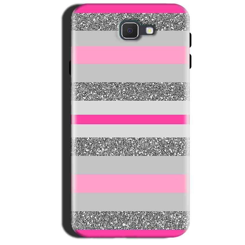 Samsung Galaxy A7 2017 Mobile Covers Cases Pink colour pattern - Lowest Price - Paybydaddy.com