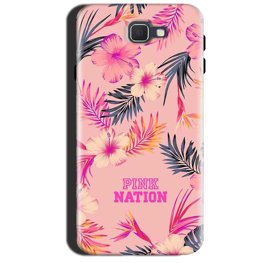 Samsung Galaxy A7 2017 Mobile Covers Cases Pink nation - Lowest Price - Paybydaddy.com